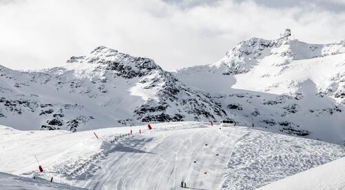 Sneeuwberg Val d'Isere