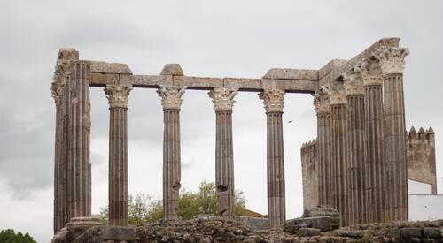 Romeinse tempel in Alentejo