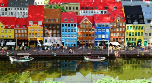 Legoland haven in  Billund