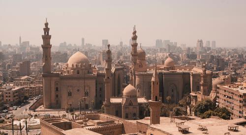 Binnenstad oude centrum Caïro